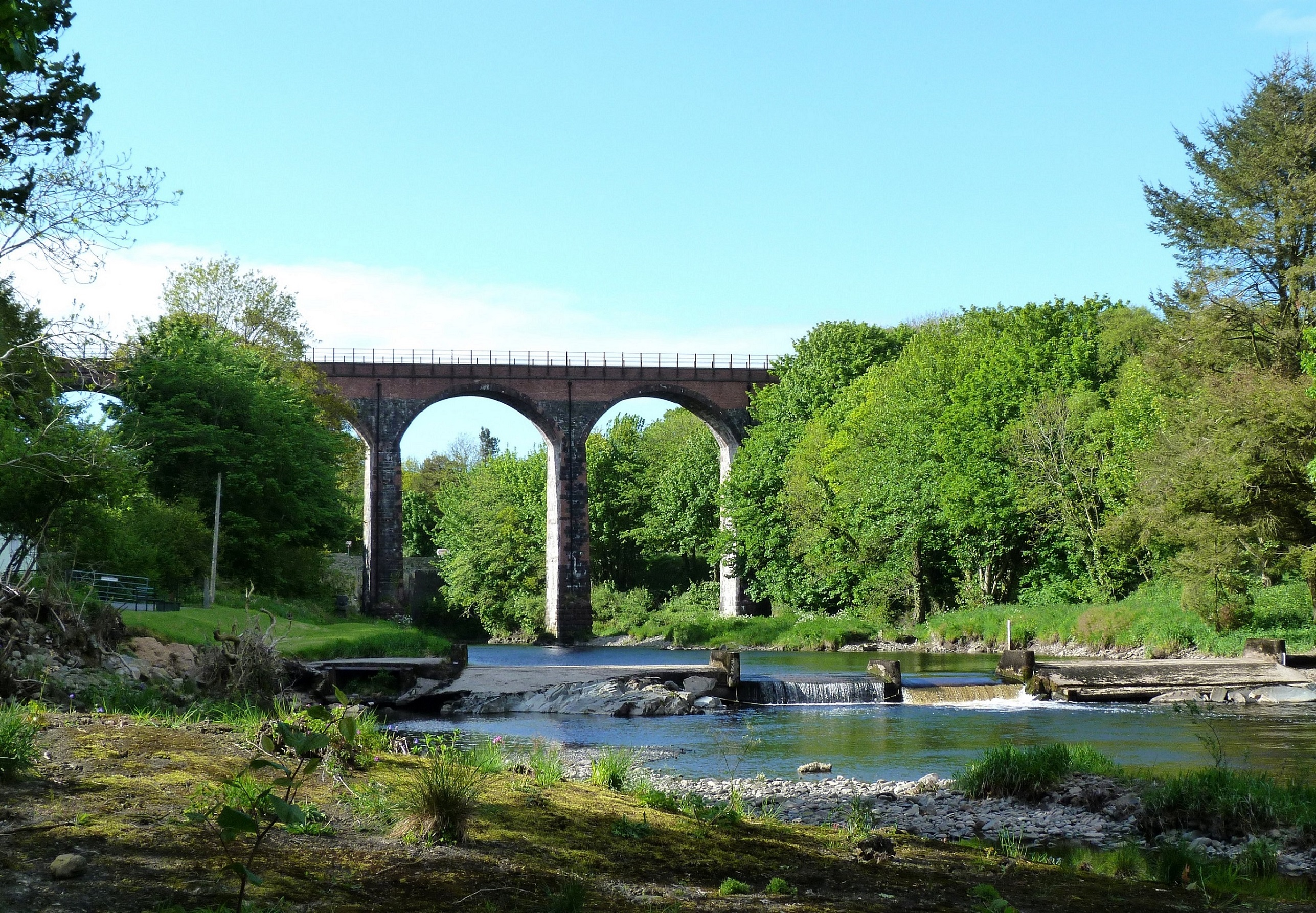 glenluce viaduct south west scotland