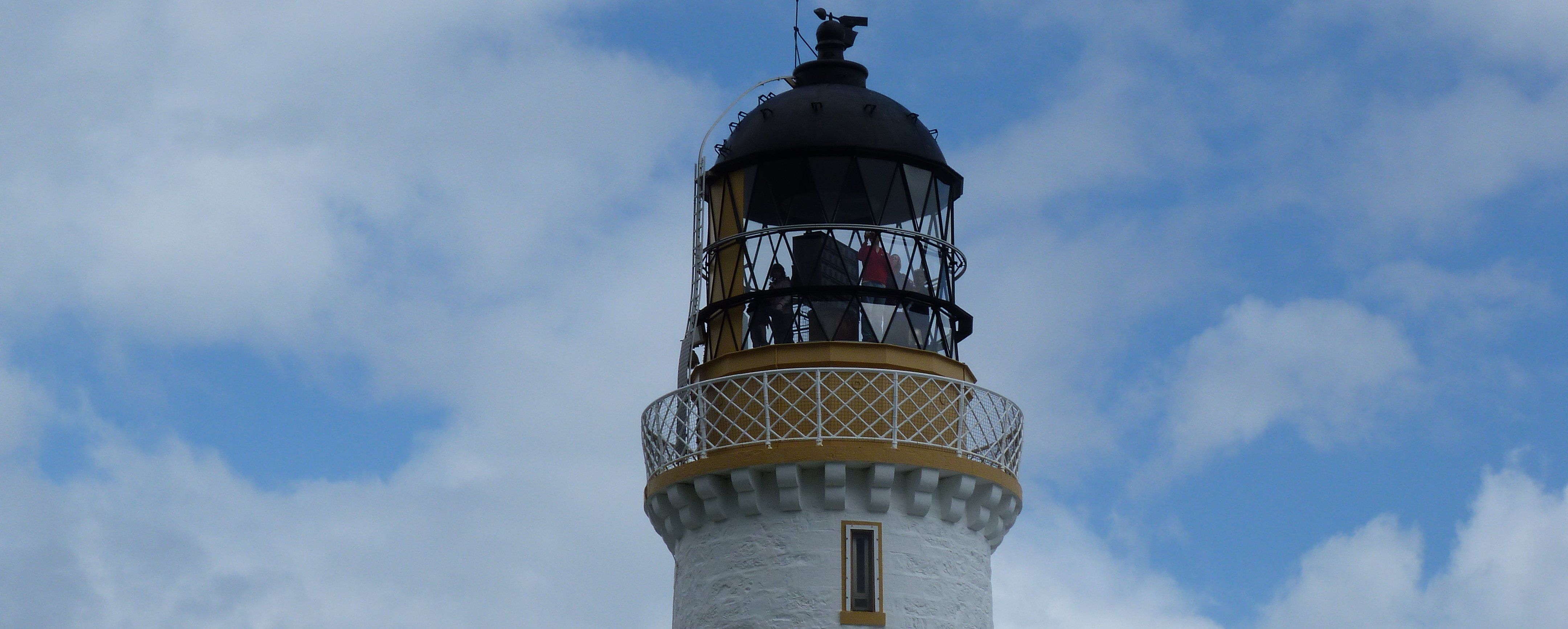 top of Mull of galloway Lighthouse