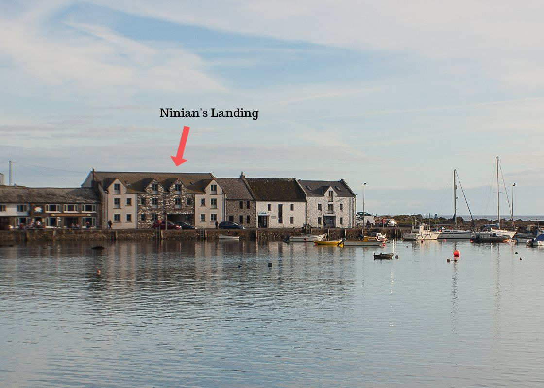 Isle of Whithorn, Ninian's Landing, Harbour Row